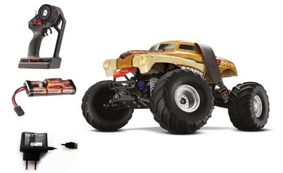 1:10 MonsterMutt RTR 2WD 27MHz MonsterTr Carson 123604 520123604
