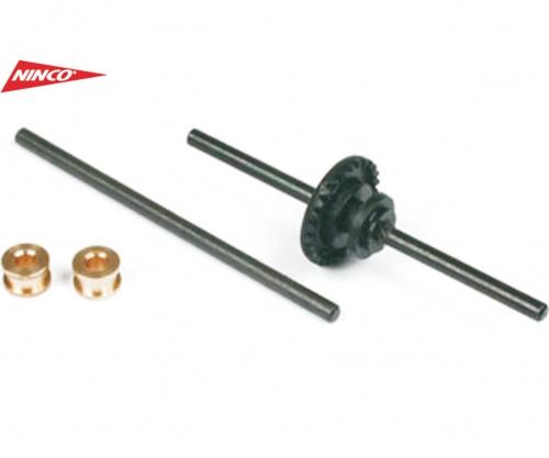 NINCO Achsen 53,5mm m. 27Z Ritzel Carson 80402 530080402