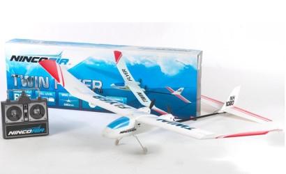 NINCOAIR Twin Flyer 27MHz 2K. RTF Carson 92002 530092002