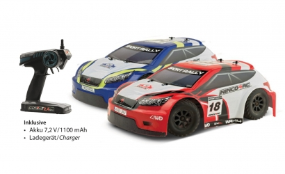 NINCO4RC 1:14 Sport Rally Blau 2.4G RTR Carson 93032 530093032