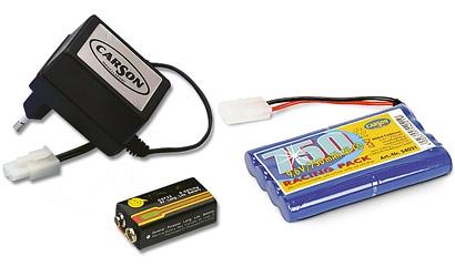 POWER PACK CHARGER SET9,6V- Carson 54020
