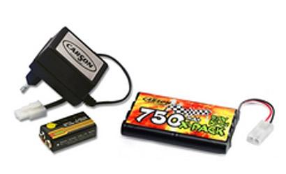 Power Pack Charger Set 9,6V Carson 608029