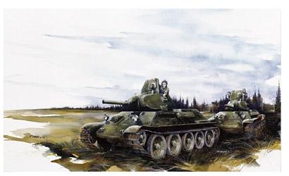 T-34/76 Mod.1940 1:35 Carson 776092