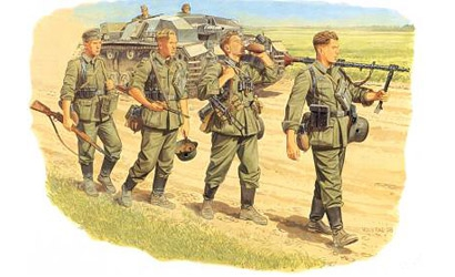Wehrmacht Infantry,1:35 Carson 776105