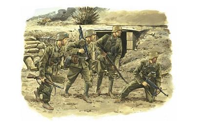 Afrika Korps Inf. 1:35 Carson 776138