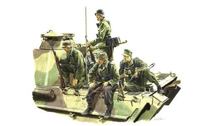 Panz.Riders Lorr.1944 1:35 Carson 776156