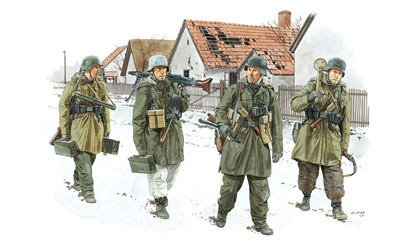 Panzergren. Viking Div.1:35 Carson 776194