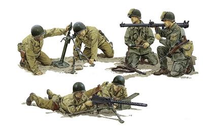 US Army Supp.Weap.Team 1:35 Carson 776198