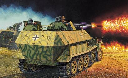 Sd.Kfz.251/16 Ausf.C 1:35 Carson 776202