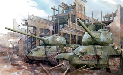 T34/85 UTZ Mod.1944 1:35 Carson 776203