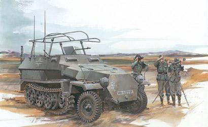 Sd.Kfz.251/6 Ausf.C 1:35 Carson 776206