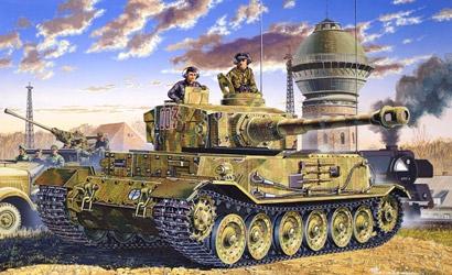 Panzerkampfw.VI Tiger 1:35 Carson 776210