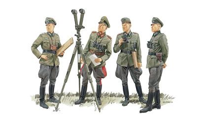 German Commando STAFF,1:35 Carson 776213