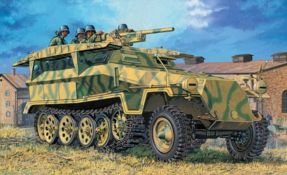 Sd.Kfz.251 Ausf.C 1:35 Carson 776224
