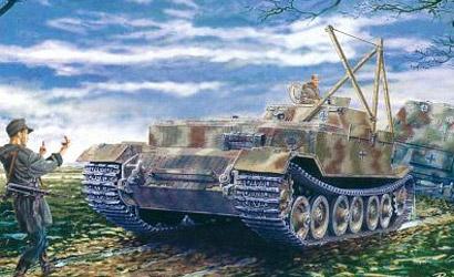 Bergepanzer Tiger (P),1:35 Carson 776226