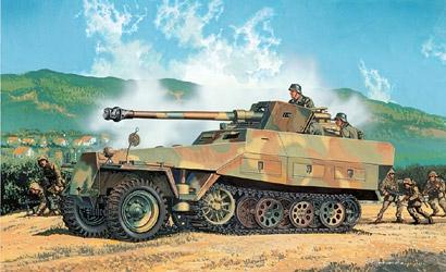 Sd.Kfz.251/22 Ausf.D W 1:35 Carson 776248