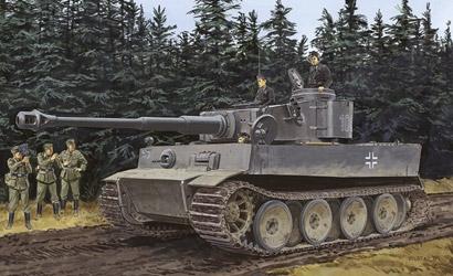 Pz.Kpfw.VI Ausf.E Ti.I 1:35 Carson 776252