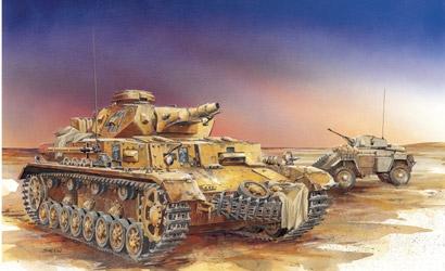 PZ.KPFW.IV Ausf.E/3in1,1:35 Carson 776264