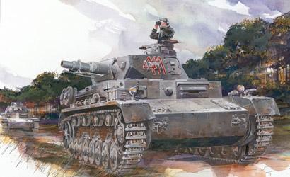 Pz.KPFW.IV Ausf.D (3 in 1) Carson 776265