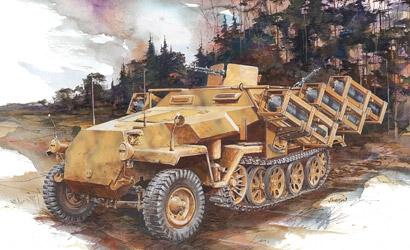 SD.KFZ.251 Ausf.C(3in1)1:35 Carson 776284