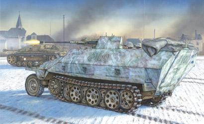 Sd.KFZ.251/17 Ausf.D,1:35 Carson 776292