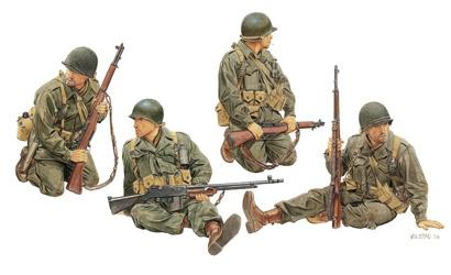 US Army Tamk Riders 1:35 Carson 776378