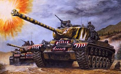 M-46 Patton 1:35 Carson 776805