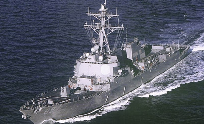 U.S.S. Mustin DDG-89 1:700 Carson 777044