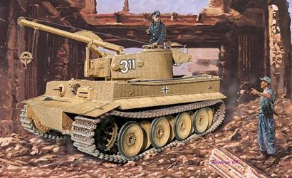 Demolit.Tiger W/Zimm. 1:72 Carson 777210