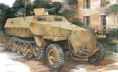 SdKfz.251/1 Ausf.D 1/72 Carson 777225