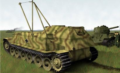 Bergepanzer Tiger (P) 1:72 Carson 777227