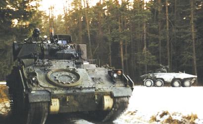 M3A2 ODS Bradley 1:72 Carson 777229