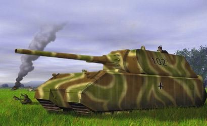 German Heavy TankMaus1:72 Carson 777255