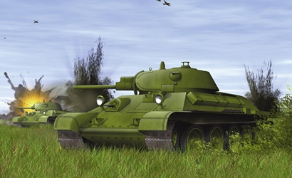 T-34/76 MOD.1940,1:72 Carson 777258