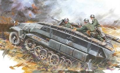 Sd.Kfz.251/7 Ausf.C 1:72 Carson 777265