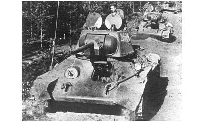T-34/76 Mod.1943 1/72 Carson 777266