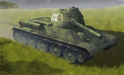T-34/85 Mod.1944,1:72 Carson 777269