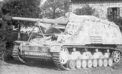 SdKfz.164 Nashorn 1/72 Carson 777292