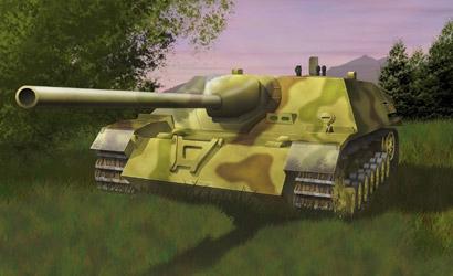 Jagdpanzer IV L/70, 1:72 Carson 777293