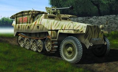 Sd.Kfz.251/7 Ausf.D 1:72 Carson 777317