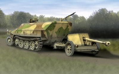 SD.Kfz.251/1 Ausf.D+7.5cm Carson 777369