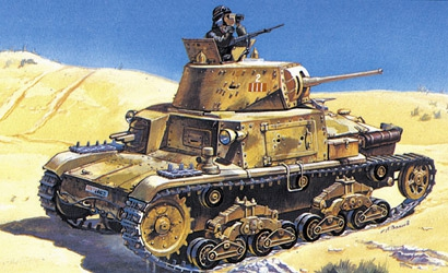 Italien Tank M13-40 Carson 783516