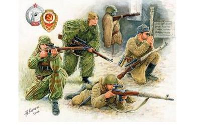 Soviet Sniper Team WW2 Carson 783597