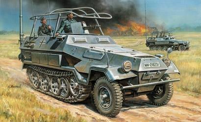 Sd.Kfz.251/3 Ausf.B Radio Carson 783604