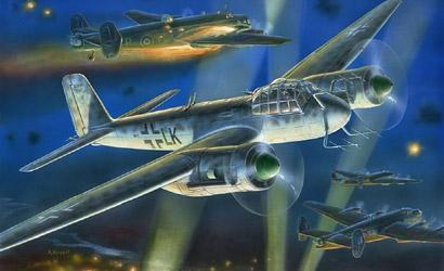 Junkers JU-88G6 Nightfight. Carson 787269