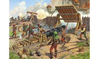Medieval Heavy Bombard Carson 788032