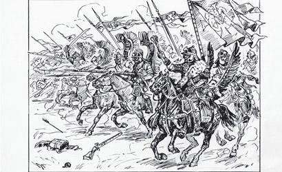 Polish Winged Hussars 1/72 Carson 788041