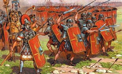 Roman Imperial Infantr.1/72 Carson 788043
