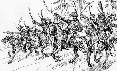 Russian Hussars 1812-14 Carson 788055