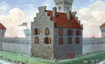 Living Quarters for Castle Carson 788517
